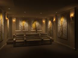 home theater lighting design. Charming Home Theater Design With Nice Lighting For Gorgeous Look R
