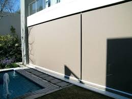 outdoor blinds for patio wooden faux wood doors perth bunnings