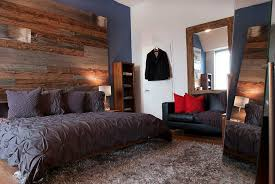 bedroom ideas with reclaimed wood walls