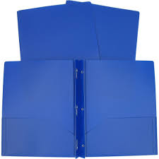 3 Prong Poly Folder Available In Multiple Colors Walmart Com