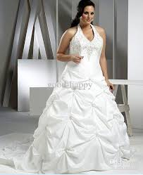 best sell plus size halter wedding dresses court train lace up