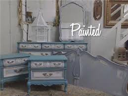 French Provincial Painted Bedroom Suite – Painted Furniture
