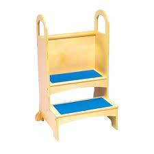 cozy kids furniture. Cozy Kids Furniture Oak Wooden Step Stool With Blue Carpet For Design . O