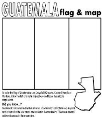 Guatemala Coloring Page Crayolacom