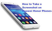 Image result for huawei honor how to screenshot