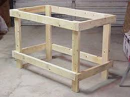 2x4 workbench plans pdf. completed 2x4 frame for low-cost workbench. workbench plans pdf