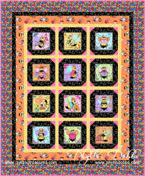 3633 best quilting images on Pinterest | Quilting ideas, Quilt ... & Free Pattern Bee Yourself Quilt Quilting Treasures. Picture blocks cut from  a printed panel. I like the angle corner blocks and yellow window pan  borders. Adamdwight.com