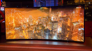 samsung curved tv 105. samsung\u0027s 105-inch curved uhd tv only costs $us120,000 samsung tv 105