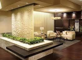house glass indoor waterfall indoor