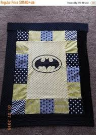 Batman Quilt...based on an art print. HST blocks with Batman ... & Valentines Day Sale Batman Baby Quilt Batman Baby by QuiltsforZoey Adamdwight.com