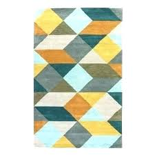 accent rugs wonderful rug gray yellow geometric area damask in red kitchen and brown with regard