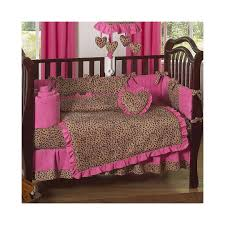 best exciting leopard print crib bedding set di pict of pink trends and shirt styles pink
