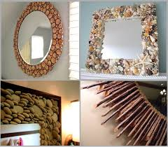 Diy mirror frame ideas Creative Diy Creative Ideas To Decorate Your Mirror Using Natural Materials So Creative Things Diy Mirrors So Creative Things Creative Things Ideas And Projects