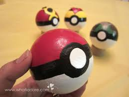How To Decorate Styrofoam Balls DIY Pokéballs from Styrofoam balls pokemon crafty cosplay 48
