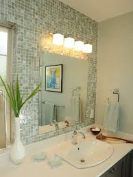 bathroom lighting over mirror. Astonishing Bathroom Lighting Over Mirror Vanity Light Height Above Wall Lamps Lighten And Blue Vase With Plant Sink Faucet Towel C
