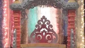 ganpati decoration 2014 home made water screen idea youtube