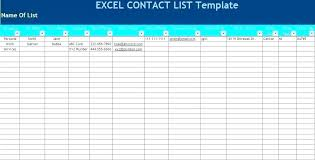 Phone Extension List Template Excel Employee List Template Excel Naomijorge Co