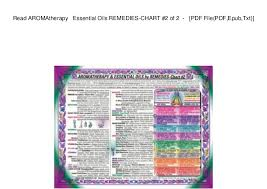 Read Aromatherapy Essential Oils Remedies Chart 2 Of 2