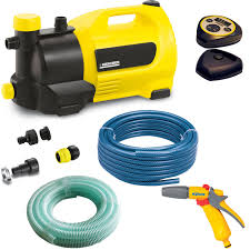 garden hose pump. Karcher GP 50 MC Surface Water Pump With Garden Hose \u0026 Spray Gun Kit
