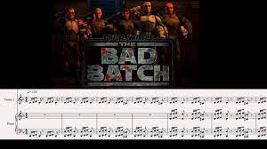 STAR WARS BAD BATCH THEME - Violin and ...