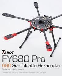 multi rotors tarot fy pro hexacopter set helipal tarot fy680 pro hexacopter set tarot frame tl68p00