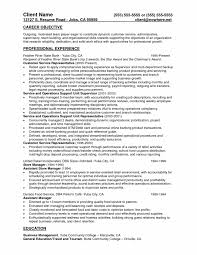 Bank Teller Resume No Experience Learning To Write From A Concise Bank Teller Resume S Sevte 74