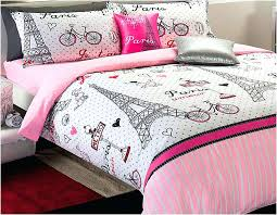paris twin bedding themed