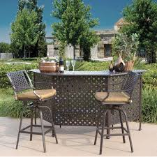 Outdoor Patio Bar Sets Contemporary 48 Best Set Aluminum Cast Images