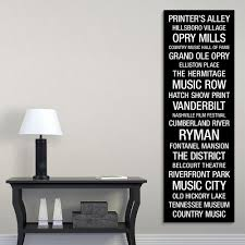 greatbigcanvas bus roll nashville tennessee by kate lillyson canvas wall art