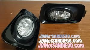 Tsx 2004 2006 Acura Tsx Oem Jdm Fog Lights Spot Lamps Accord Sedan 4dr