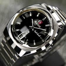 17 best images about vintage rado men s watch rado purple gazelle mens day date automatic black dial 25 jewels swiss watches