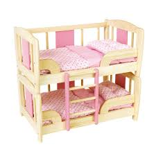 pin toys doll bunk bed