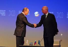 file vladimir putin klaus schwab world economic forum russia ceo roundtable 2007