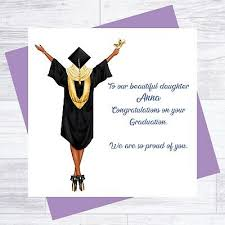 Congratulations For Graduation Personalised Graduation Congratulations Card Daughter