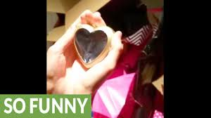 husband shocks wifle with surprise valentine s day gift