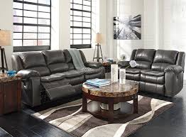 Reclining Living Room Furniture Sets Long Knight Gray Reclining Living Room Set W Power Living Room