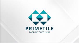 tile logo. Simple Tile Tile Logo With I