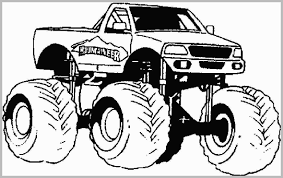 Monster Truck Coloring Book 41737 Longlifefamilystudyorg