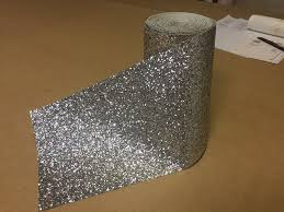 Silver Glitter Wallpaper For Bedroom Amazoncouk Wallpaper Borders Diy Tools