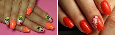 Oranžová Francouzská Manikúra Oranžová Manikúra Zkusme Oranžové Nehty
