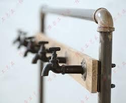 Plumbing Pipe Coat Rack Inspiration Nordic American Country Industrial Pipes Iron Coat Rack Floor