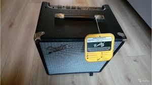 <b>Басовый комбоусилитель Fender</b> Rumble 25 (V3) купить в Санкт ...