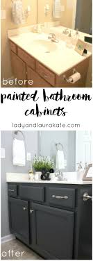 diy painted bathroom cabinets it s super simple to achieve in this how to with homemade