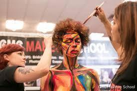 body painting by muas amber lynne natalia issa for cmc makeup at the makeup