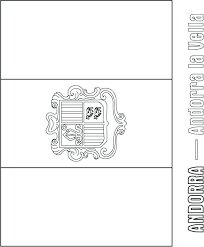 coloring pages spain flag coloring page printable to color children template free the of