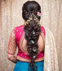 Wavy hair texture can be a perfect and ideal fit for this look. Know Best 50 Hair Styles Tips For Your Wedding Reception