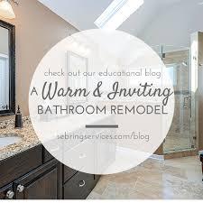 Bathroom Remodeling Naperville Impressive A Warm Inviting Bathroom Remodel Home Remodeling Contractors