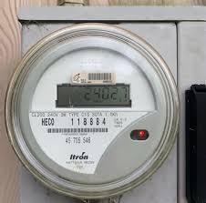 your meter reading hawaiian electric