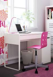 stunning chic ikea office. Wonderful Chic Baby Nursery Exquisite Ikea Micke Computer Desk White For Home Office Pink  Chair And Green  Throughout Stunning Chic
