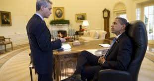 obama oval office. president barack obama meets with white house chief of staff rahm emanuel wednesday morning, january 21, 2009, in the oval office at i